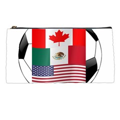 United Football Championship Hosting 2026 Soccer Ball Logo Canada Mexico Usa Pencil Cases by yoursparklingshop