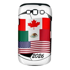 United Football Championship Hosting 2026 Soccer Ball Logo Canada Mexico Usa Samsung Galaxy S Iii Classic Hardshell Case (pc+silicone) by yoursparklingshop