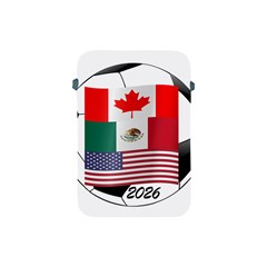United Football Championship Hosting 2026 Soccer Ball Logo Canada Mexico Usa Apple Ipad Mini Protective Soft Cases by yoursparklingshop