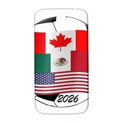 United Football Championship Hosting 2026 Soccer Ball Logo Canada Mexico Usa Samsung Galaxy S4 I9500/i9505  Hardshell Back Case by yoursparklingshop