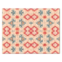 Tribal Shapes                                          Jigsaw Puzzle (rectangular) by LalyLauraFLM