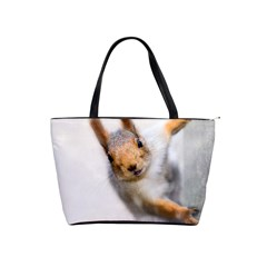 Curious Squirrel Shoulder Handbags by FunnyCow
