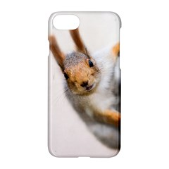 Curious Squirrel Apple Iphone 7 Hardshell Case by FunnyCow