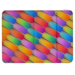 Colorful Textured Shapes Pattern                                Htc One M7 Hardshell Case by LalyLauraFLM