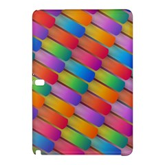 Colorful Textured Shapes Pattern                                Nokia Lumia 1520 Hardshell Case by LalyLauraFLM