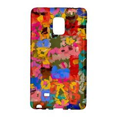 Coloful Strokes Canvas                              Samsung Galaxy Note 4 Leather Folio by LalyLauraFLM