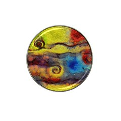 Painted Swirls                                    Hat Clip Ball Marker