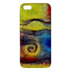 Painted Swirls                              Samsung Galaxy Note 3 Leather Folio Case by LalyLauraFLM