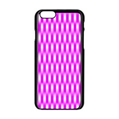 Series In Pink A Apple Iphone 6/6s Black Enamel Case by MoreColorsinLife