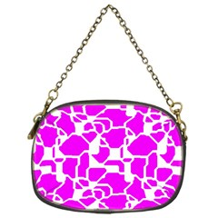 Series In Pink B Chain Purses (one Side)  by MoreColorsinLife