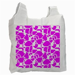 Series In Pink B Recycle Bag (one Side) by MoreColorsinLife