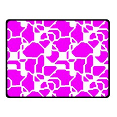 Series In Pink B Fleece Blanket (small) by MoreColorsinLife