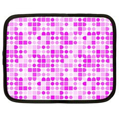 Series In Pink C Netbook Case (large) by MoreColorsinLife