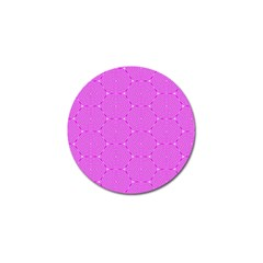 Series In Pink E Golf Ball Marker by MoreColorsinLife