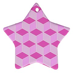 Series In Pink F Ornament (star)