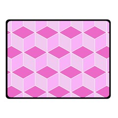 Series In Pink F Fleece Blanket (small) by MoreColorsinLife