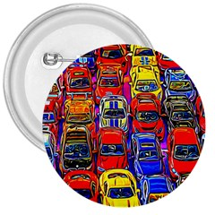 Colorful Toy Racing Cars 3  Buttons by FunnyCow