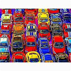 Colorful Toy Racing Cars Canvas 18  X 24   by FunnyCow