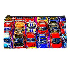 Colorful Toy Racing Cars Pencil Cases by FunnyCow
