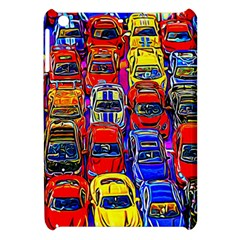 Colorful Toy Racing Cars Apple Ipad Mini Hardshell Case by FunnyCow