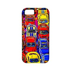 Colorful Toy Racing Cars Apple Iphone 5 Classic Hardshell Case (pc+silicone) by FunnyCow