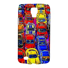 Colorful Toy Racing Cars Samsung Galaxy S4 Active (i9295) Hardshell Case by FunnyCow