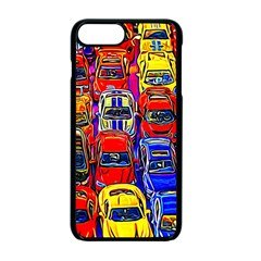 Colorful Toy Racing Cars Apple Iphone 7 Plus Seamless Case (black) by FunnyCow