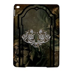 Wonderful Decorative Dragon On Vintage Background Ipad Air 2 Hardshell Cases by FantasyWorld7