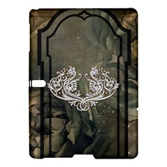 Wonderful Decorative Dragon On Vintage Background Samsung Galaxy Tab S (10 5 ) Hardshell Case  by FantasyWorld7