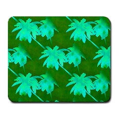 Palm Trees Island Jungle Large Mousepads by CrypticFragmentsColors
