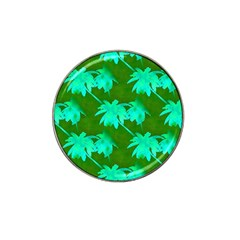 Palm Trees Island Jungle Hat Clip Ball Marker (10 Pack) by CrypticFragmentsColors