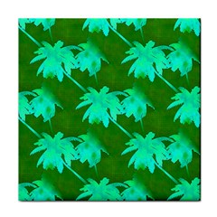 Palm Trees Island Jungle Face Towel by CrypticFragmentsColors