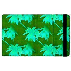 Palm Trees Island Jungle Apple Ipad 2 Flip Case by CrypticFragmentsColors