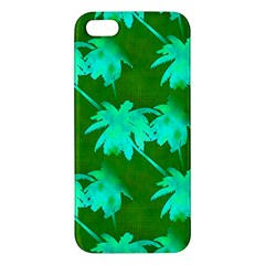 Palm Trees Island Jungle Iphone 5s/ Se Premium Hardshell Case by CrypticFragmentsColors