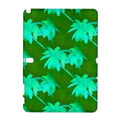 Palm Trees Island Jungle Samsung Galaxy Note 10 1 (p600) Hardshell Case by CrypticFragmentsColors