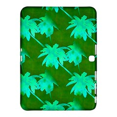 Palm Trees Island Jungle Samsung Galaxy Tab 4 (10 1 ) Hardshell Case  by CrypticFragmentsColors