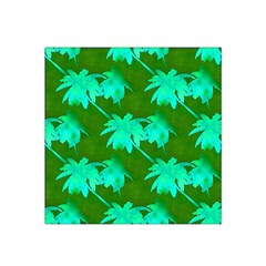 Palm Trees Island Jungle Satin Bandana Scarf by CrypticFragmentsColors
