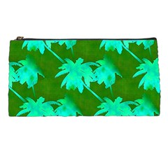 Palm Trees Island Jungle Pencil Cases by CrypticFragmentsColors