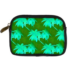 Palm Trees Island Jungle Digital Camera Cases by CrypticFragmentsColors