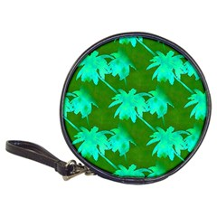 Palm Trees Island Jungle Classic 20 Cd Wallets by CrypticFragmentsColors