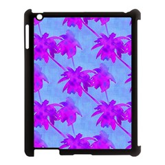 Palm Trees Caribbean Evening Apple Ipad 3/4 Case (black) by CrypticFragmentsColors