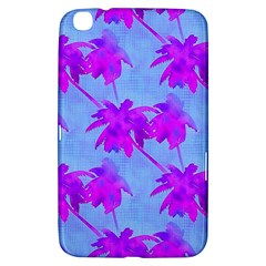 Palm Trees Caribbean Evening Samsung Galaxy Tab 3 (8 ) T3100 Hardshell Case  by CrypticFragmentsColors