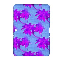 Palm Trees Caribbean Evening Samsung Galaxy Tab 2 (10 1 ) P5100 Hardshell Case  by CrypticFragmentsColors