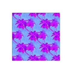 Palm Trees Caribbean Evening Satin Bandana Scarf by CrypticFragmentsColors