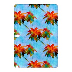 Palm Trees Sunset Glow Samsung Galaxy Tab Pro 12 2 Hardshell Case by CrypticFragmentsColors