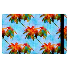 Palm Trees Sunset Glow Ipad Mini 4 by CrypticFragmentsColors