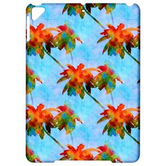 Palm Trees Sunset Glow Apple Ipad Pro 9 7   Hardshell Case by CrypticFragmentsColors