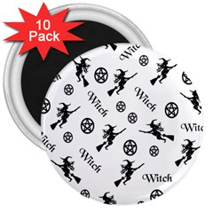 Witches And Pentacles 3  Magnets (10 Pack)  by IIPhotographyAndDesigns