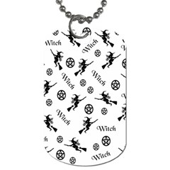 Witches And Pentacles Dog Tag (one Side) by IIPhotographyAndDesigns