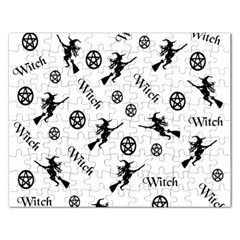Witches And Pentacles Rectangular Jigsaw Puzzl by IIPhotographyAndDesigns